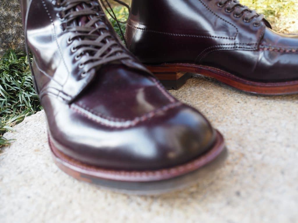 ALDEN color 8 CORDOVAN Indy Boots (AF134) Trubalance last