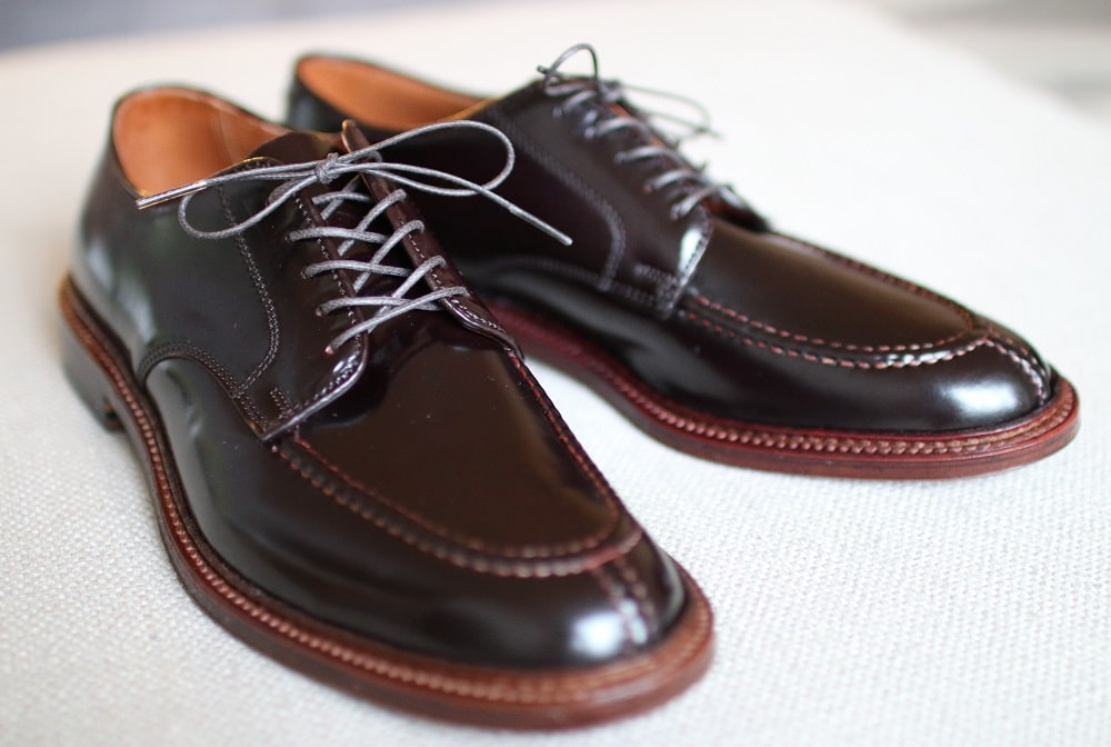Alden color 8 cordovan Unlined Norwegian Front (AOC-77) Barrie last