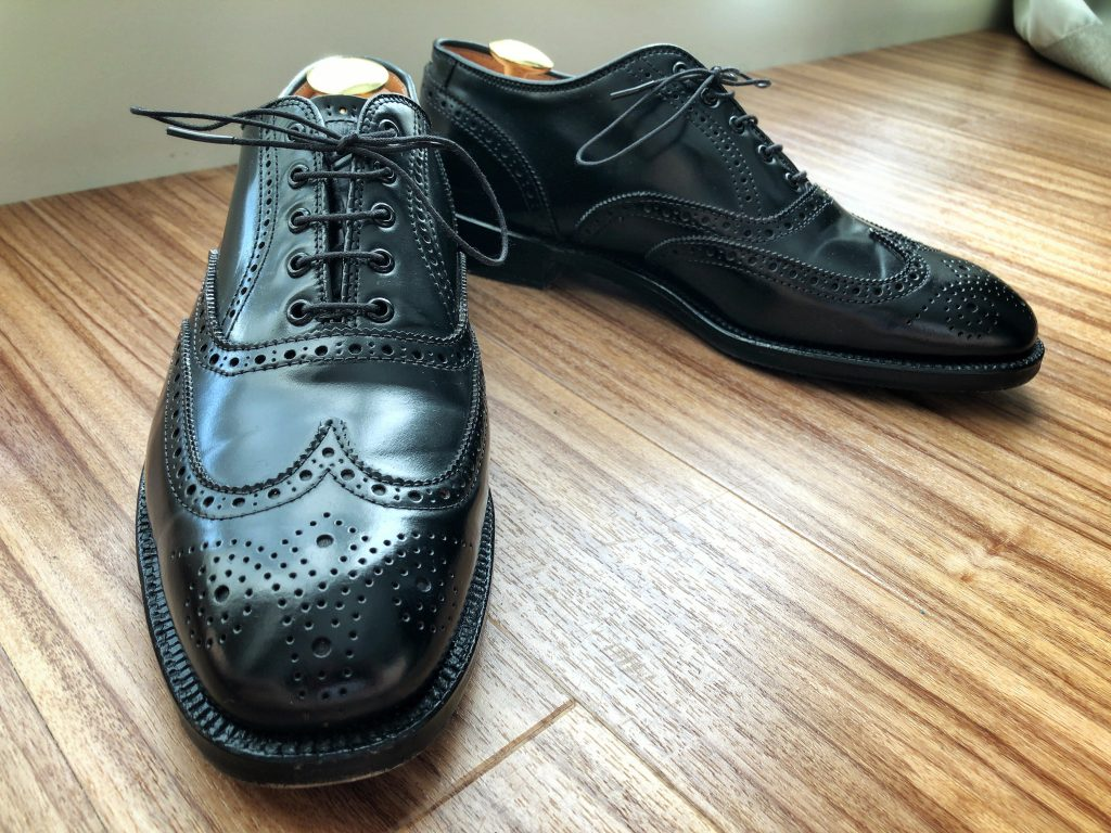 Alden X Blackfleece By Brooks Brothers black cordovan Wing Tip (LWB) Barrie last